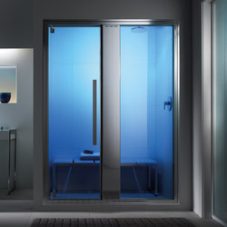 Omniasteam Touch 145 with Omnia 50 glass panel | Turkish baths | Effegibi