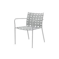 tagliatelle outdoor armchair 717 | Fauteuils de jardin | Alias
