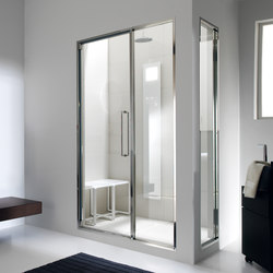 Touch&Steam with Spaziodue 105 door | Turkish baths | Effegibi
