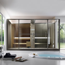 Logica Twin front | Saunas | EFFE PERFECT WELLNESS
