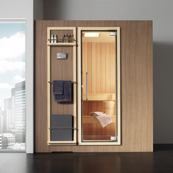 Koko L light walnut | Saunas | Effegibi