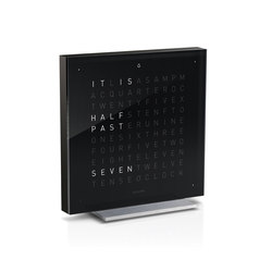 QLOCKTWO® TOUCH Black Metal | Clocks | BIEGERT&FUNK