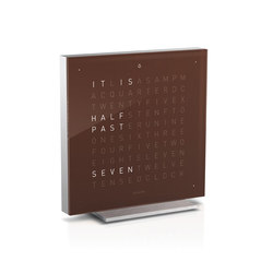 QLOCKTWO® TOUCH Dark Chocolate | Clocks | BIEGERT&FUNK