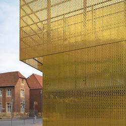 TECU® Gold_punch | Façade | Facade design | KME