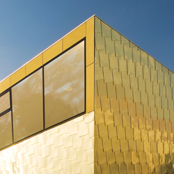 TECU® Gold | Facade | Facade systems | KME