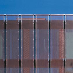 TECU® Classic_flatmesh | Facade | Facade systems | KME
