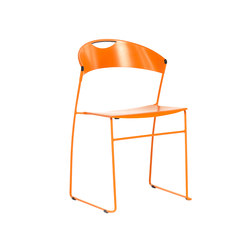 Juliette stackable chair | Multipurpose chairs | Baleri Italia by Hub Design
