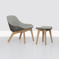 Morph Lounge and Pouf | Lounge chairs | Zeitraum