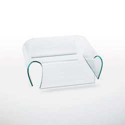 Bent Glass Table | Tavolini bassi | Glas Italia