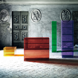 Dr. Jekyll and Mr. Hyde | Shelving systems | Glas Italia