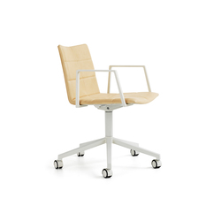 Archal Armchair 5-feet swivel with castors | Sillas de oficina | Lammhults