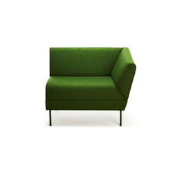 Addit Right / Left Unit | Modular seating elements | Lammhults