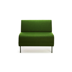Addit Center unit | Modular seating elements | Lammhults
