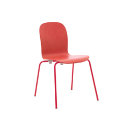 Tate Color Chair | Visitors chairs / Side chairs | Cappellini