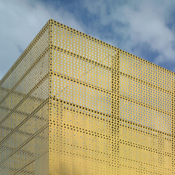 TECU® Gold_punch | Facade | Facade design | KME