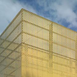 TECU® Gold_punch  | Fachada | Ejemplos de fachadas | KME