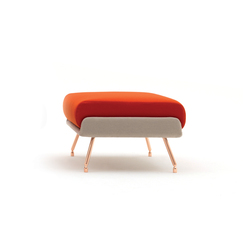 A&A Lounge Ottoman | Poufs / Polsterhocker | Knoll International