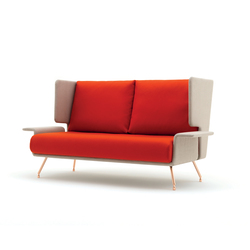 A&A Lounge sofa | Divani lounge | Knoll International