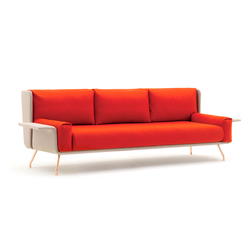 A&A Lounge sofa | Loungesofas | Knoll International