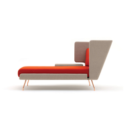 A&A Lounge Chaise Longue | Chaises longues | Knoll International