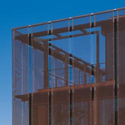 TECU® Classic_flatmesh | Facade | Facade design | KME