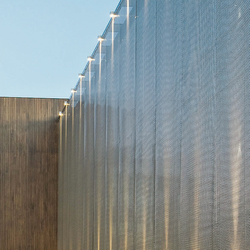 TECU® Gold/Stainless_weave | Fassade | Fassadenbeispiele | KME