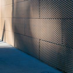 TECU® Bronze_mesh | Facade | Facade design | KME