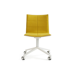 Archal Chair 4-feet swivel with castors | Sillas | Lammhults