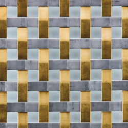 TECU® Gold/Stainless_weave | Material | Metal sheets / panels | KME