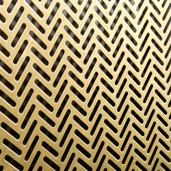 TECU® Brass_punch | Material | Metal sheets / panels | KME