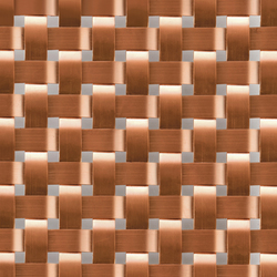 TECU® Brass_weave | Material | Metal sheets / panels | KME