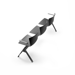 Slam | Beam / traverse seating | Sellex