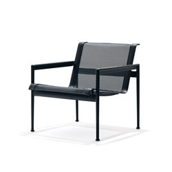 1966 Loungesessel Schwarz | Gartensessel | Knoll International