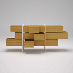 The Nendo Collection | 15 | Bath shelving | Bisazza