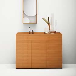 The Nendo Collection | 01 | Meubles sous-lavabo | Bisazza
