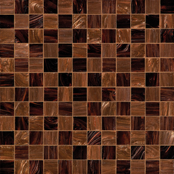 Checkmate Brown | Glass mosaics | Bisazza