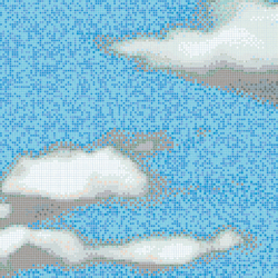 Clouds B | Mosaici quadrati | Bisazza
