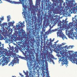Jardin Bleu F | Mosaïques verre | Bisazza
