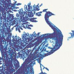 Jardin Bleu A | Mosaïques verre | Bisazza