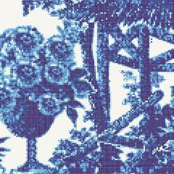 Jardin Bleu C | Glass mosaics | Bisazza