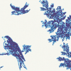 Jardin Bleu E | Mosaïques verre | Bisazza