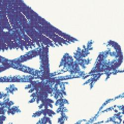Jardin Bleu D | Mosaïques verre | Bisazza