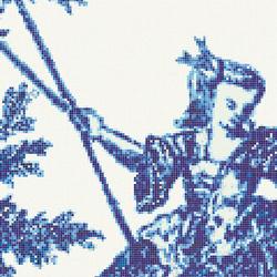 Jardin Bleu G | Glass mosaics | Bisazza