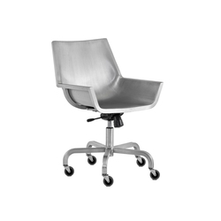 Sezz Swivel chair with castors | Sillas | emeco
