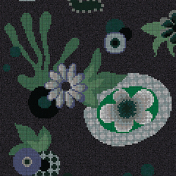 Moonlight Garden A | Mosaïques verre | Bisazza