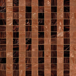 Rayures Marrons | Glass mosaics | Bisazza