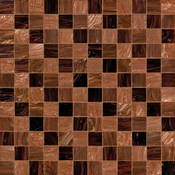 Steps Brown | Glas Mosaike | Bisazza