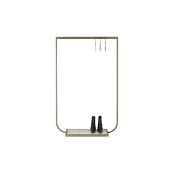 Tati Coat Rack small marble | Freestanding wardrobes | ASPLUND