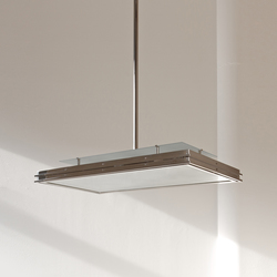 "Pendant Lamp ""Tempelhof "" in the style of the German Modernism 
