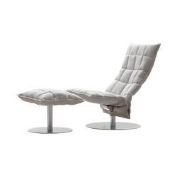 Narrow k Chair and Ottoman | Sillones | Woodnotes